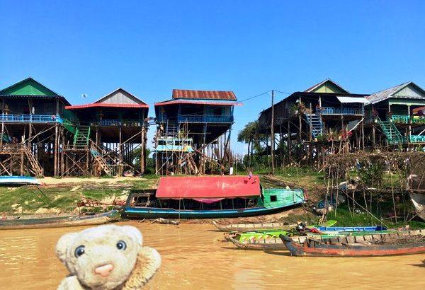 【トンレサップ湖】世界最大規模の水上集落へ行ってみたなの!