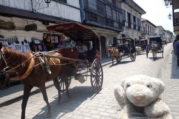 【フィリピン・ビガン】睡眠薬強盗に負けず、世界遺産観光なの!