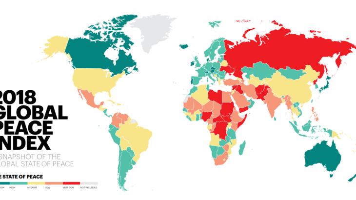 【世界一周講座・治安対策編】危ない国には行きたくない! では、平和な国ってどこなの?