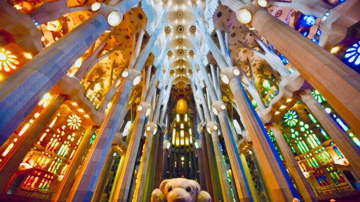 【22B.カタルーニャ】建築物の最高峰! サグラダ・ファミリアなの!