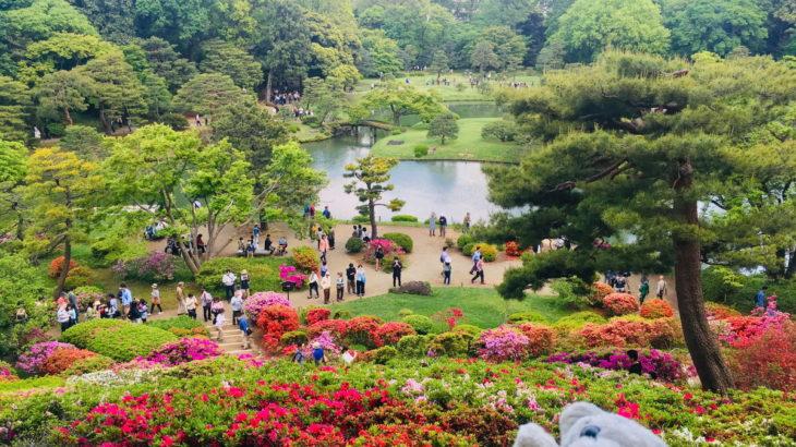 【駒込】日本文化を楽しめるお庭なの!【六義園】