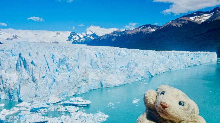 【24.5パタゴニア】超スケール! 登って食べれる氷河なの!