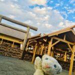 【大嘗宮】一世に一度の重要な儀式の舞台へ行ってみたなの!【皇居】