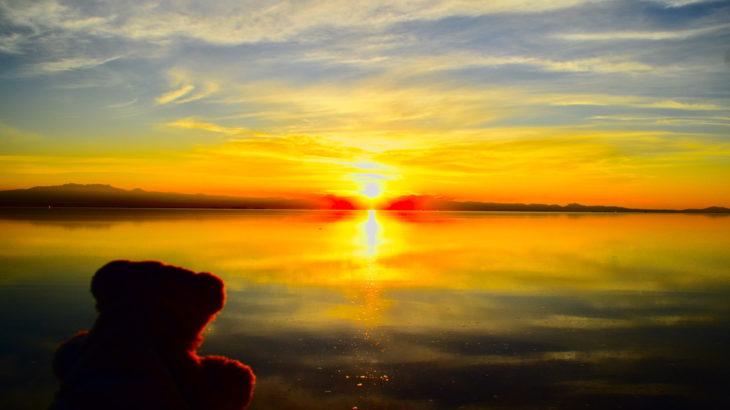 【ウユニ】世界一周の超定番! ウユニ塩湖なの!【ボリビア】