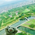 【函館】お星さまの形のお城と世界三大夜景なの!